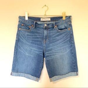 Gap Denim Bermuda Shorts Dark Indigo Size 30